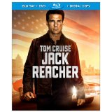 Blu-ray cover for JACK REACHER (2012).